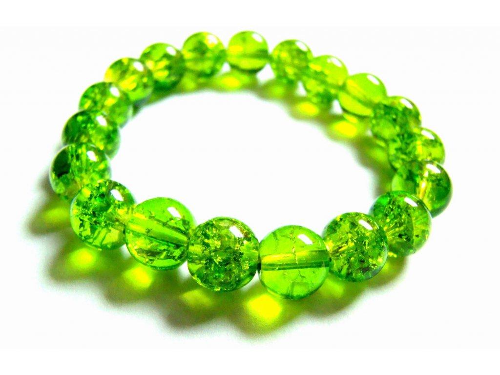 náramek - zelený - bižuterie - 180211
