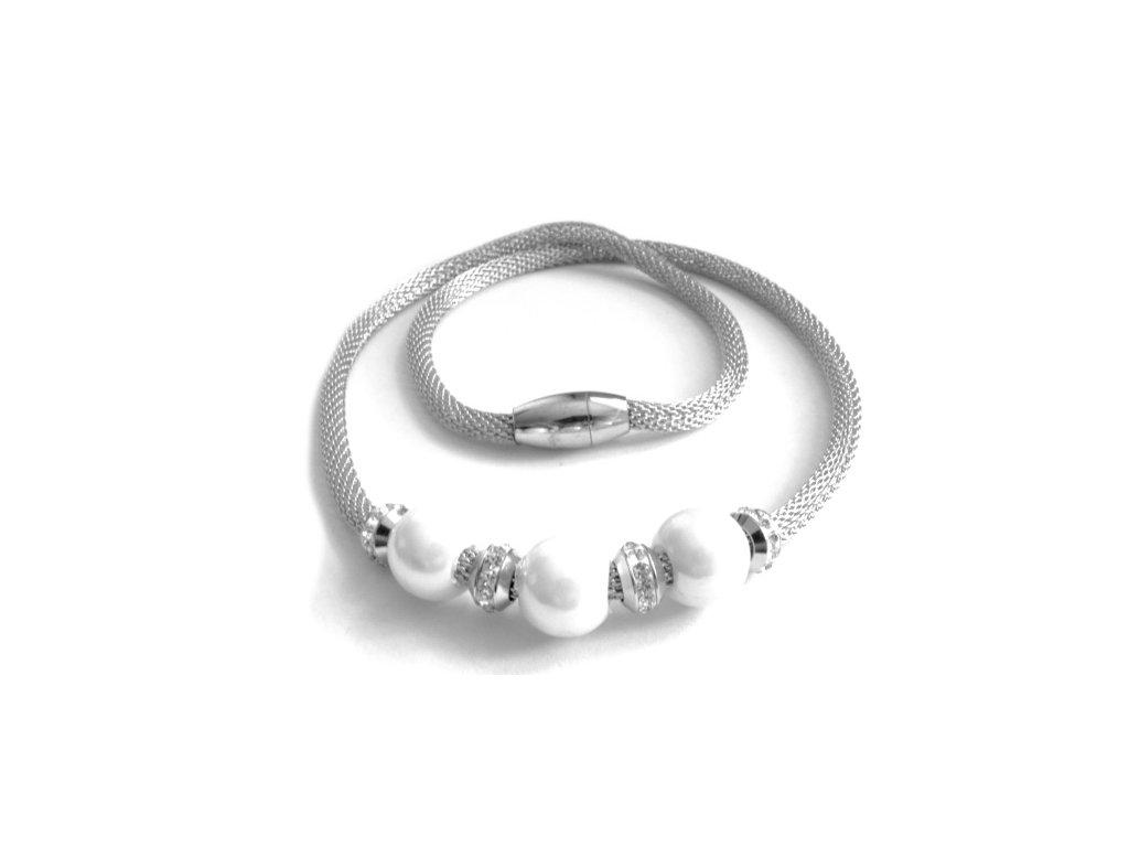 řetízek - náhrdelník - chirurgická ocel - dámský - 100272
