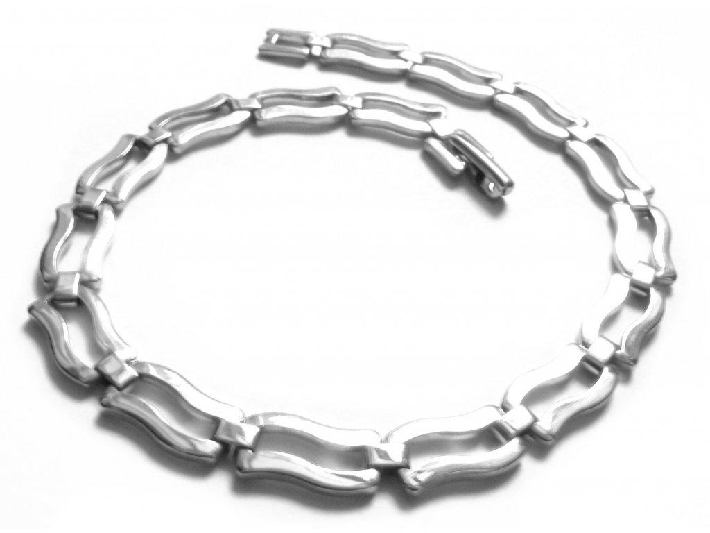 náramek - jemný - chirurgická ocel - 140904