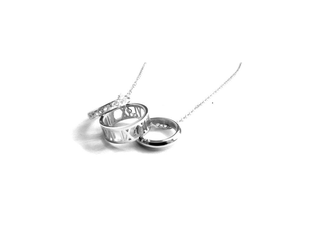 řetízek - náhrdelník - chirurgická ocel - 090235