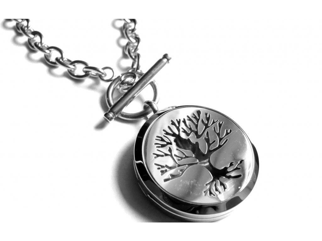 náhrdelník - chirurgická ocel - strom života - 080343