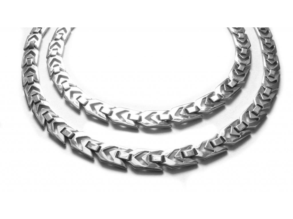 řetízek - náhrdelník - jemný - chirurgická ocel - 140906