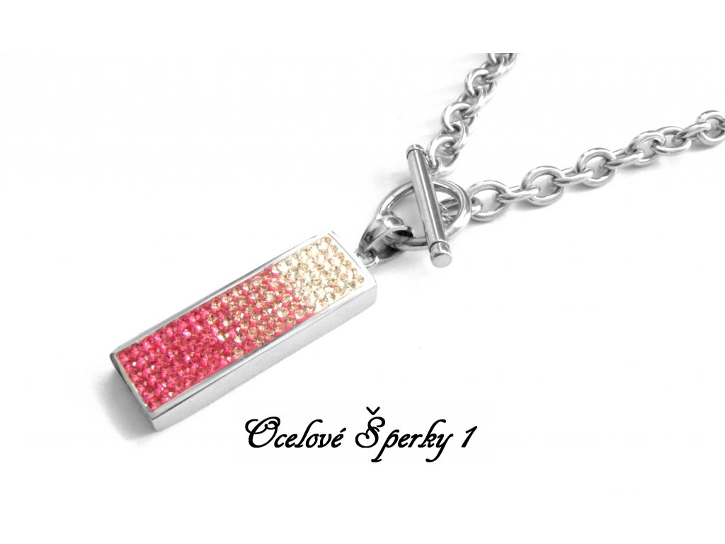 náhrdelník - chirurgická ocel - dámský - 090311