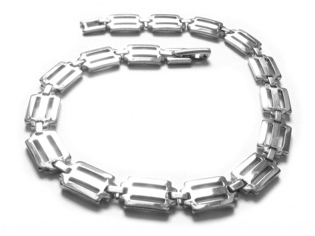 náramek - jemný - chirurgická ocel - 140912
