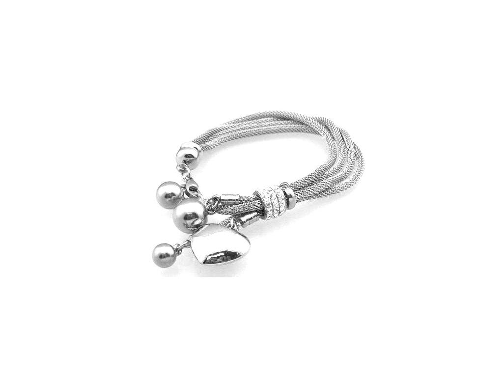 náramek - chirurgická ocel - dámský - 140115