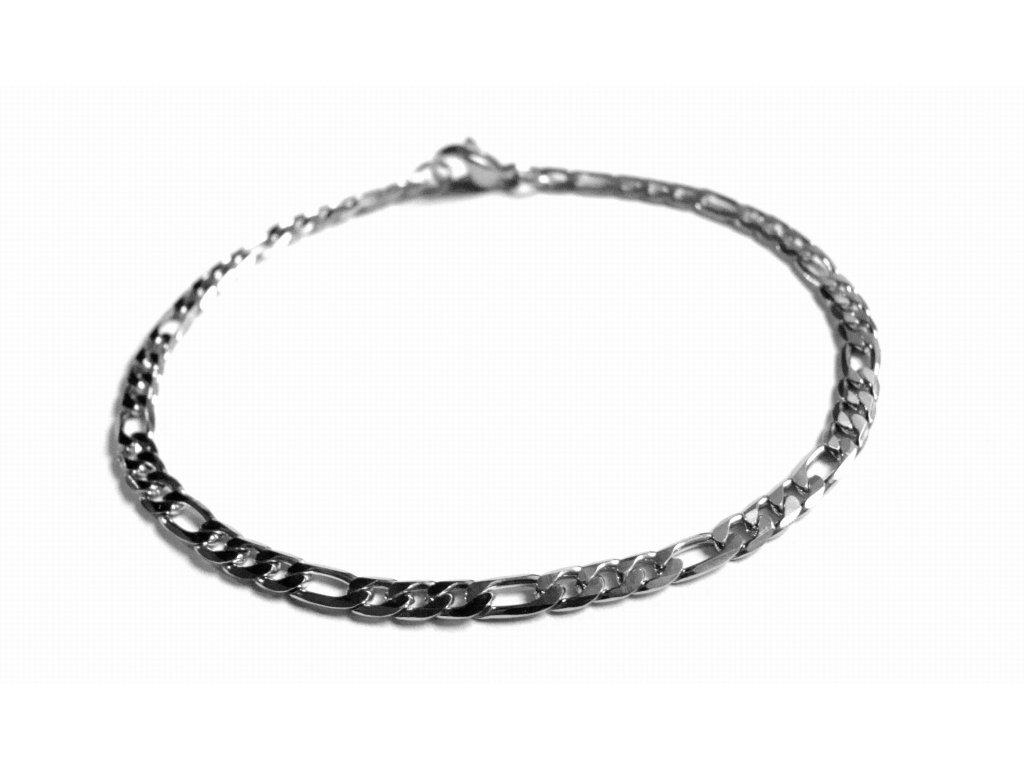 náramek - chirurgická ocel - jemný - 150402