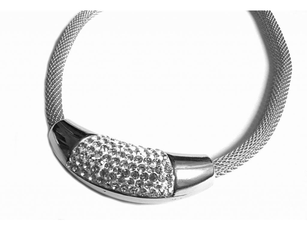 řetízek, náhrdelník - chirurgická ocel - dámský - 160201