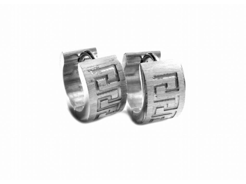 náušnice - chirurgická ocel - kroužky - 090176