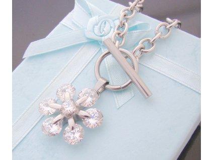náhrdelník - chirurgická ocel - dámský - 090236