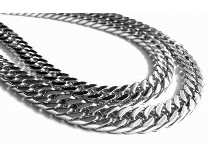 řetízek - chirurgická ocel - pánský - masivní - 130213