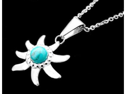 řetízek, náhrdelník - chirurgická ocel - dámský - 140303