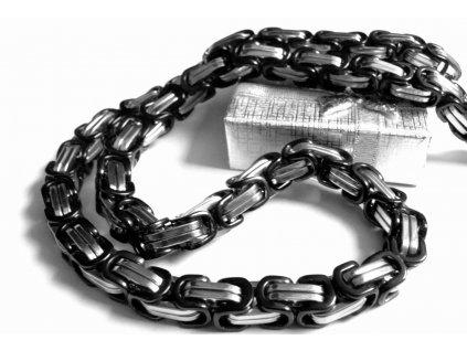 řetízek rekoblack - chirurgická ocel - pánský - masivní - 090187