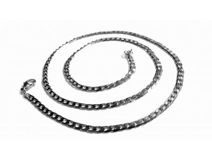 řetízek - chirurgická ocel - jemný - 160119