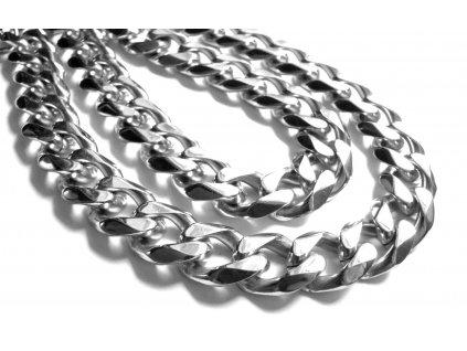 řetízek - chirurgická ocel - pánský - masivní - 171005