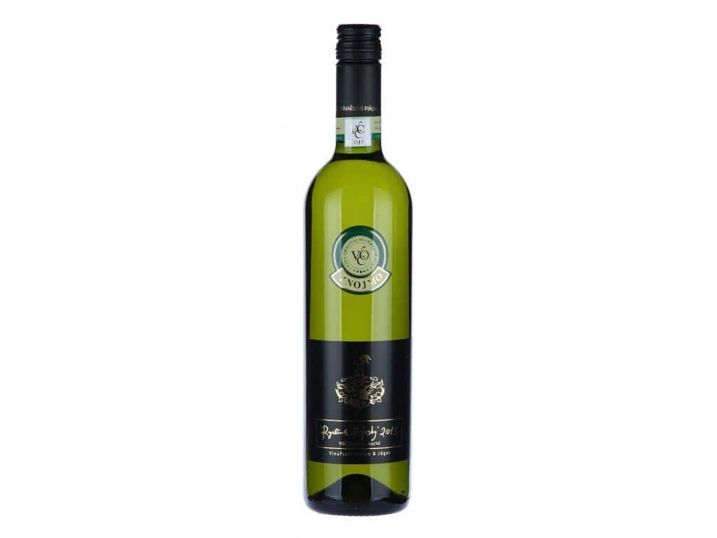 Ryzlink Rýnský VOC Znojmo 2016, Vinařství Piálek & Jäger