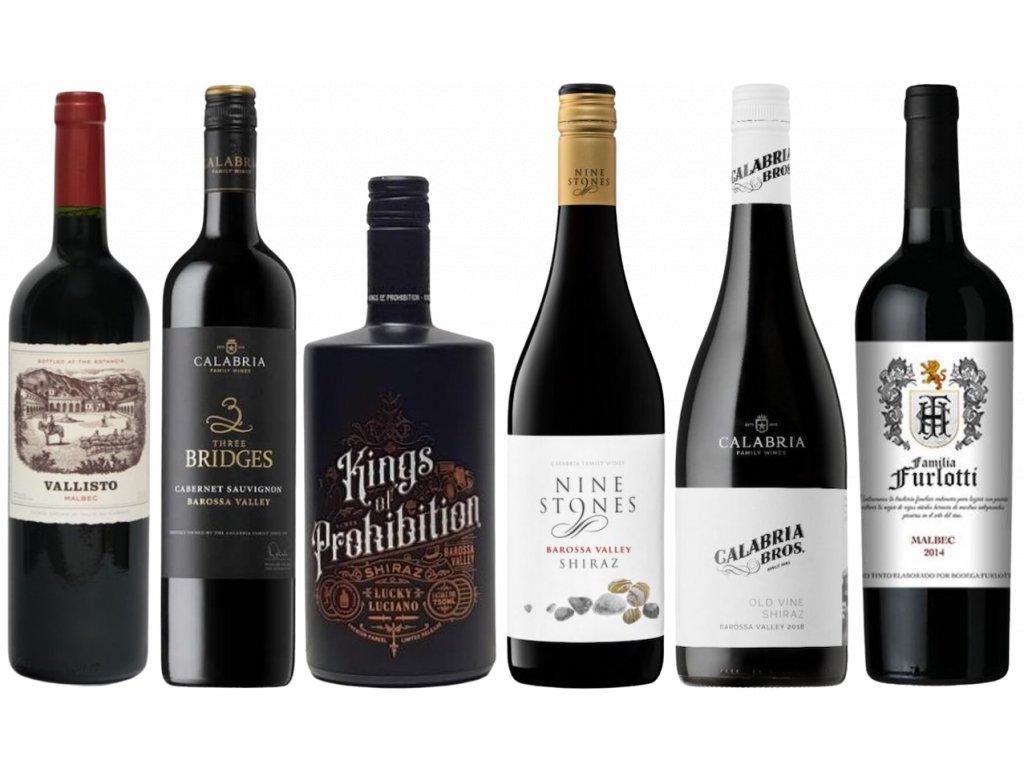 kvalitní víno Nový svět Argentina a Austrálie od oceněnávínaCZ