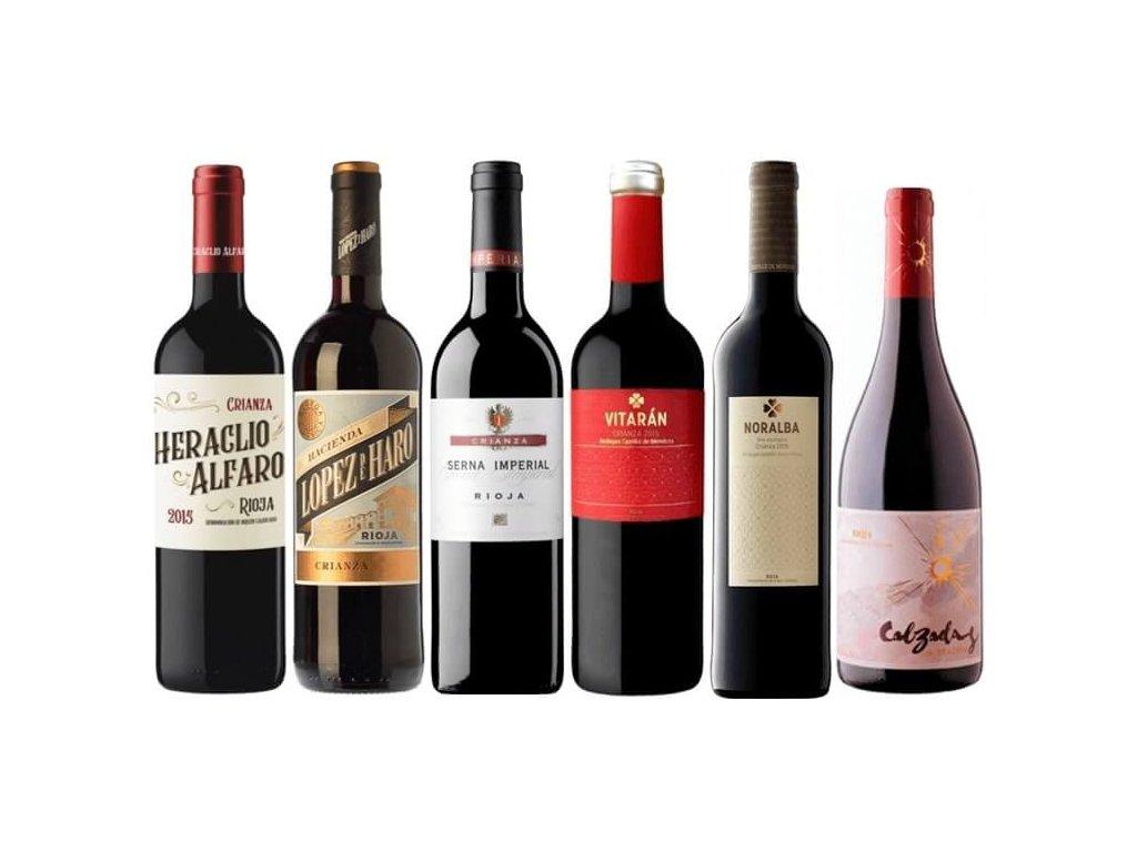 Rioja Crianza skvělý poměr kvality a ceny ze Španělska