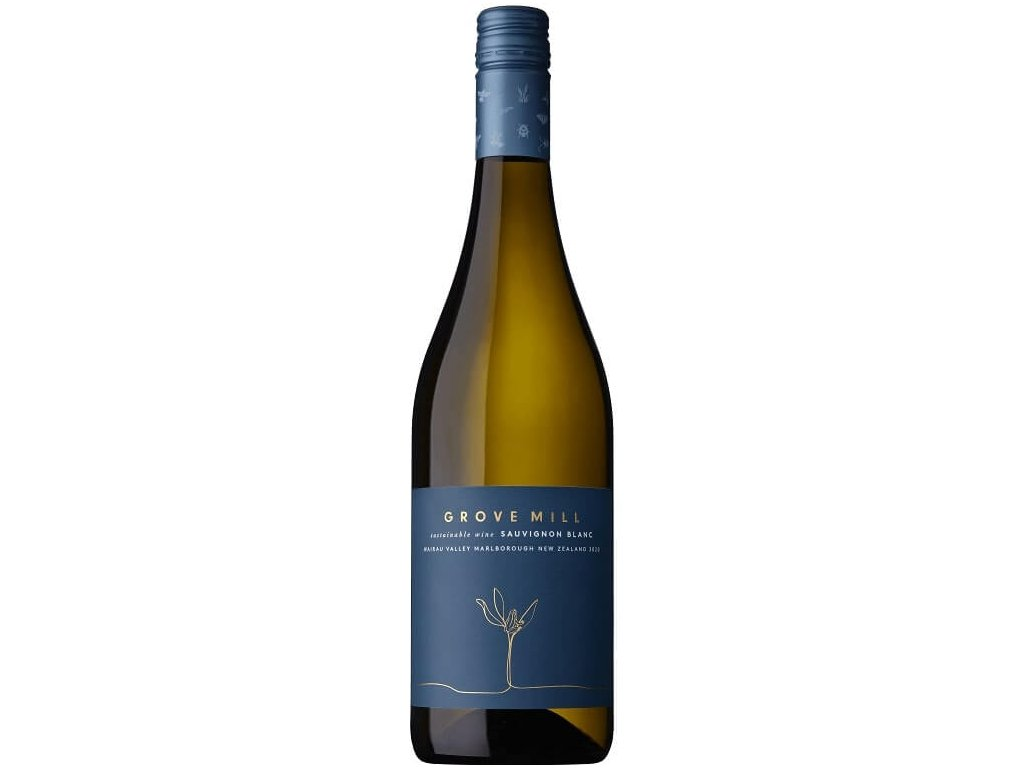 Sauvignon blanc 2020 Groove hill, Marlborough, Nový Zéland (1)
