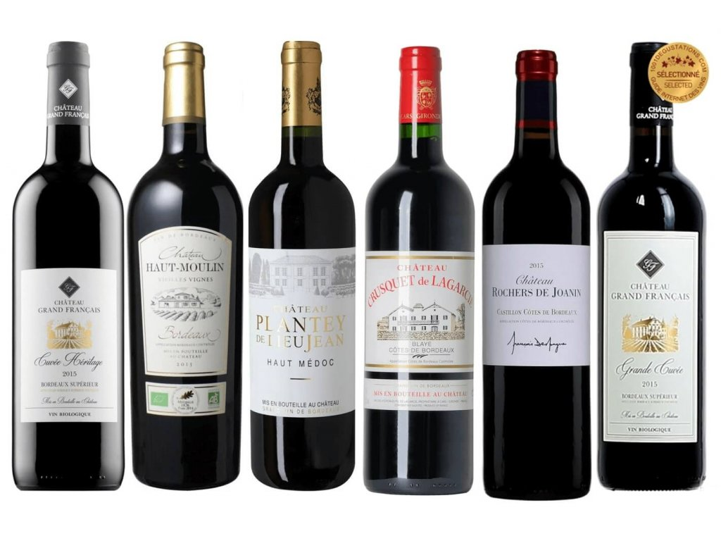 Poznejte Bordeaux v šesti lahvích OceněnáVína CZ (1)