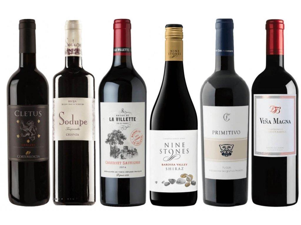 Podzimní vína červená OceněnáVína CZ 2021 (1)