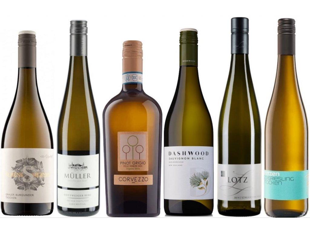 Bstsellery kvalitní bílá vína od Oceněnávína CZ