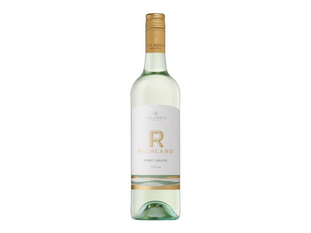 Richland Pinot Grigio, calabria family wines OceněnáVína CZ