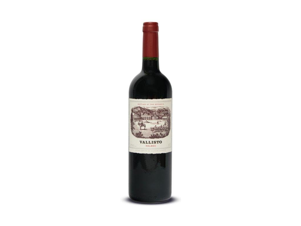 MALBEC VALLISTO, CAFAYATE, CALCHAQUI VALLEY, ARGENTINA kvalitní víno od OceněnávínaCZ