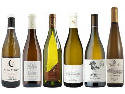 Cesta po Francia kvalitní bílá vína od Oceněnávína CZ
