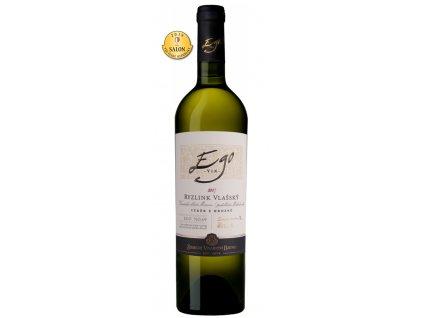 Ryzlink vlašský 2017, Zámecké vinařství Bzenec, váběr z hroznů, suché
