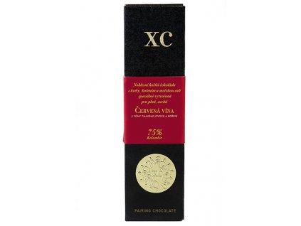 Čokoláda XC choco alchemy červená vína
