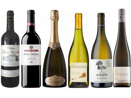 Silvestr gurmánský mix vína