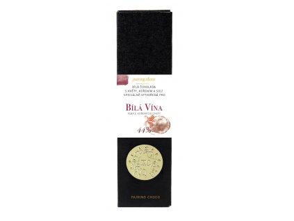 Bílá čokoláda XC choco alchemy bílá polosuchá a polosladká vína