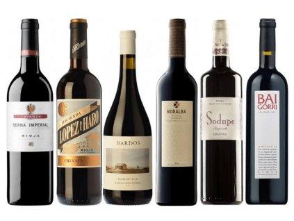 Není Crianza jako Crianza Rioja Baja, Rioja Alta, Rioja Alavesa, Ribera del Duero (1)