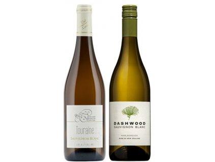 Porovnejte vliv regionu Sauvignon Blanc Francie vs Nový Zéland