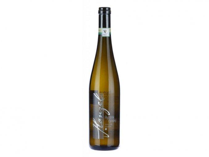 Ryzlink Rýnský VOC Znojmo 2015, Vinařství Hanzel, polosuché