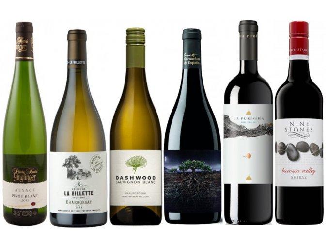 kvalitní víno Podzimní plná vína mix od oceněnávínaCZ