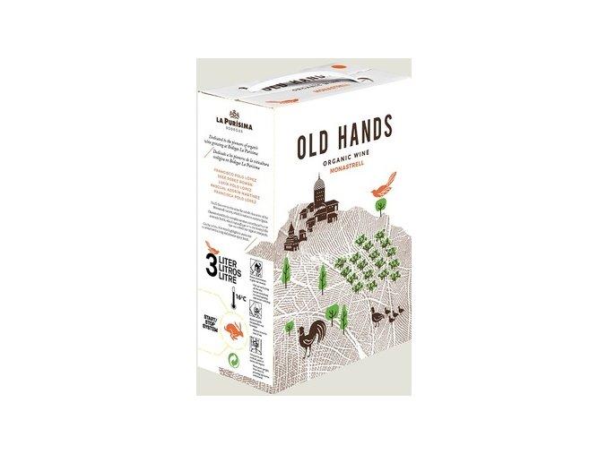 2015 OLD HANDS Monastrell Ecologico Bodegas La Purisima. bag in box