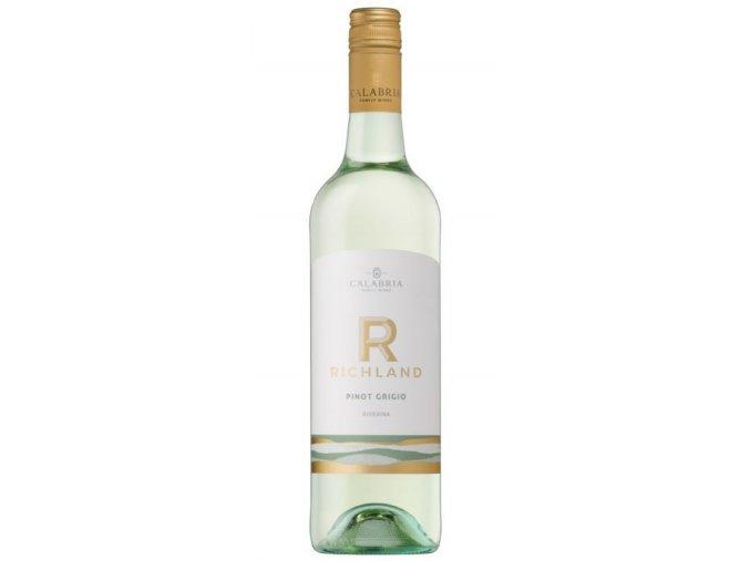 2016 Richland Pinot Grigio, calabria family wines
