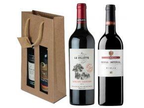 Souboj Francie a Španělska: Rioja Crianza vs. Cabernet Sauvignon