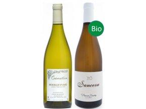Porovnejte Sauvignon blanc z nejlepších oblastí Pouilly Fumé vs Sancerre