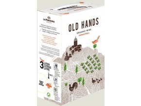 2015 OLD HANDS Monastrell Ecologico Bodegas La Purisima. bag in box