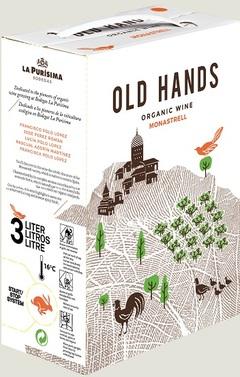 BIO Monastrell 2019 Old hands, La Purisima - 3L Bag in Box