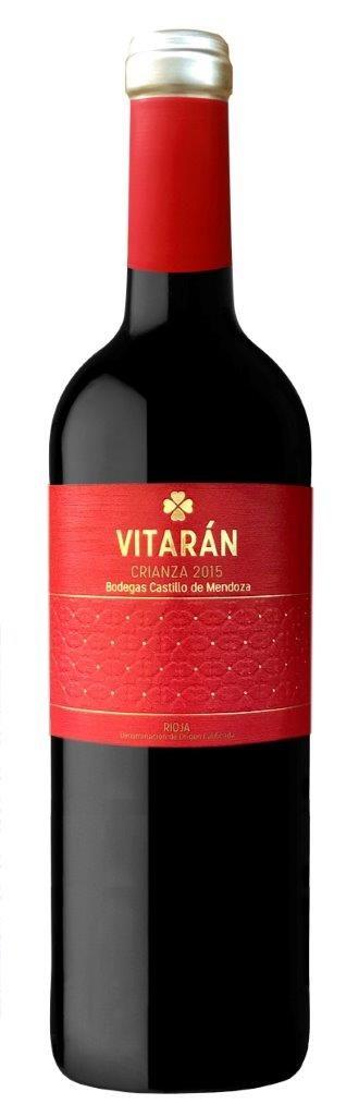 Rioja Crianza Vitarán 2016, Castillo de Mendoza (ECO/BIO)