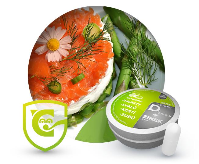 Vitamín D a Zinek - pomocníci v cestě za lepší imunitou
