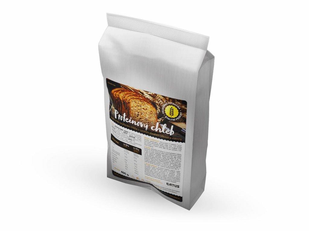 Směs na domácí celozrnný proteinový chléb Catus 400g