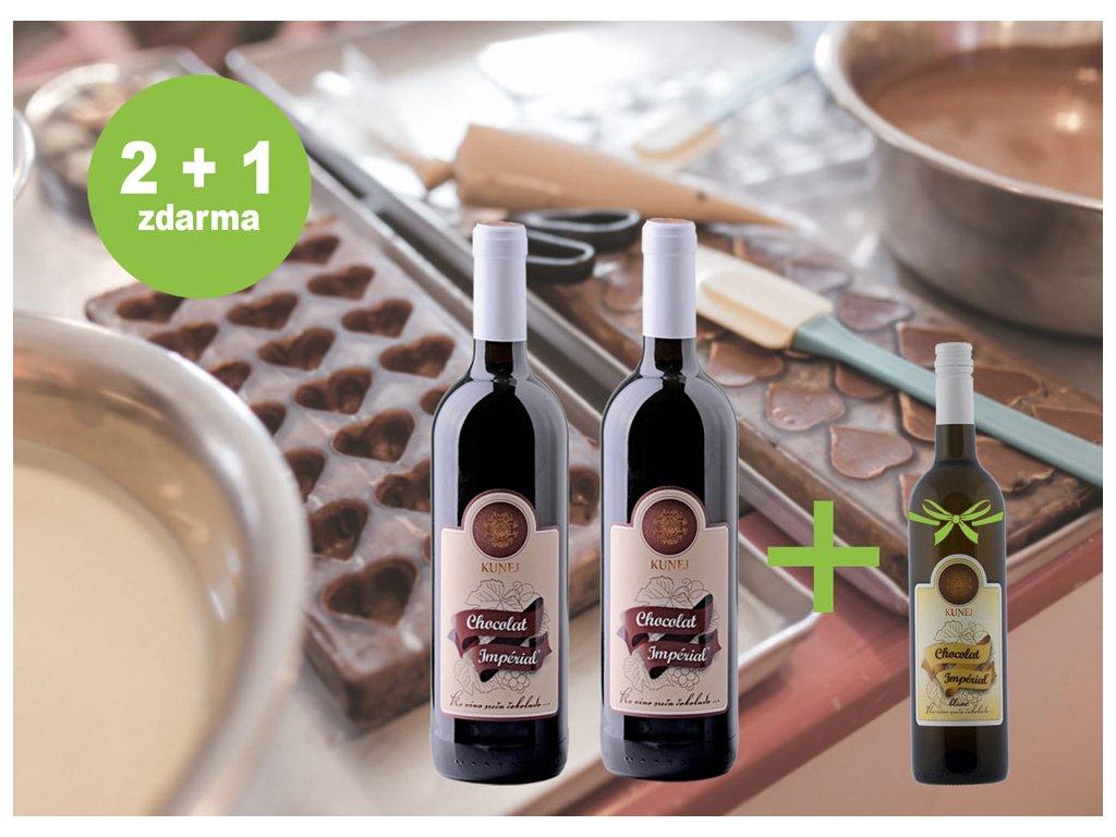 2+1 čokoladové víno