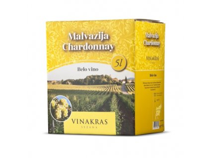 Bag in Box 5l - Chardonnay, Malvazija