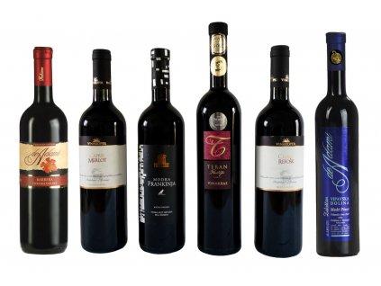Červena zona 6 vin