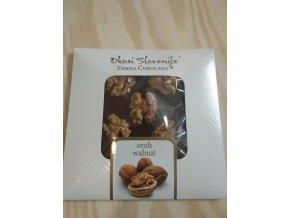 Hořká čokoláda s vlašskými ořechy 90g