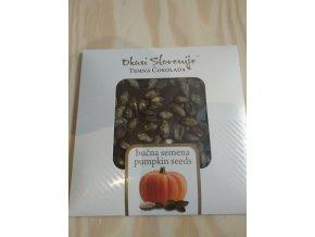 Hořká čokoláda s dýňovými semínky 90g
